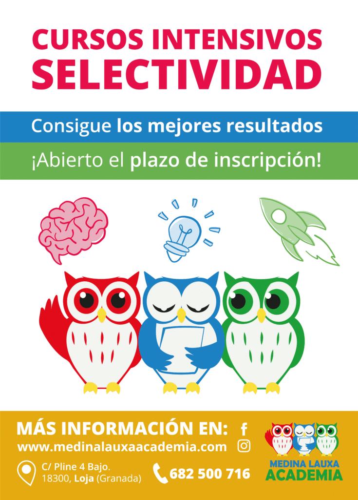Curso intensivo de selectividad 2018 - Academia preparatoria en Loja