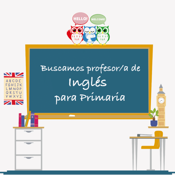 Buscamos profesor o profesora de ingles para primaria para el curso 2018-19