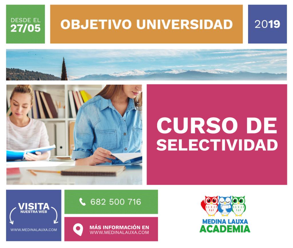 Curso selectividad 2019 Prepara la selectividad con MLA