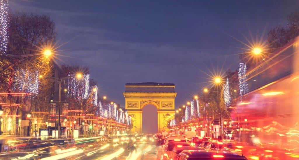 Campos Eliseos De Noche Mejores Ofertas De Trabajo En Francia
