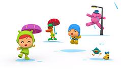English With Pocoyo Rain Rain 238px 160px Opt3